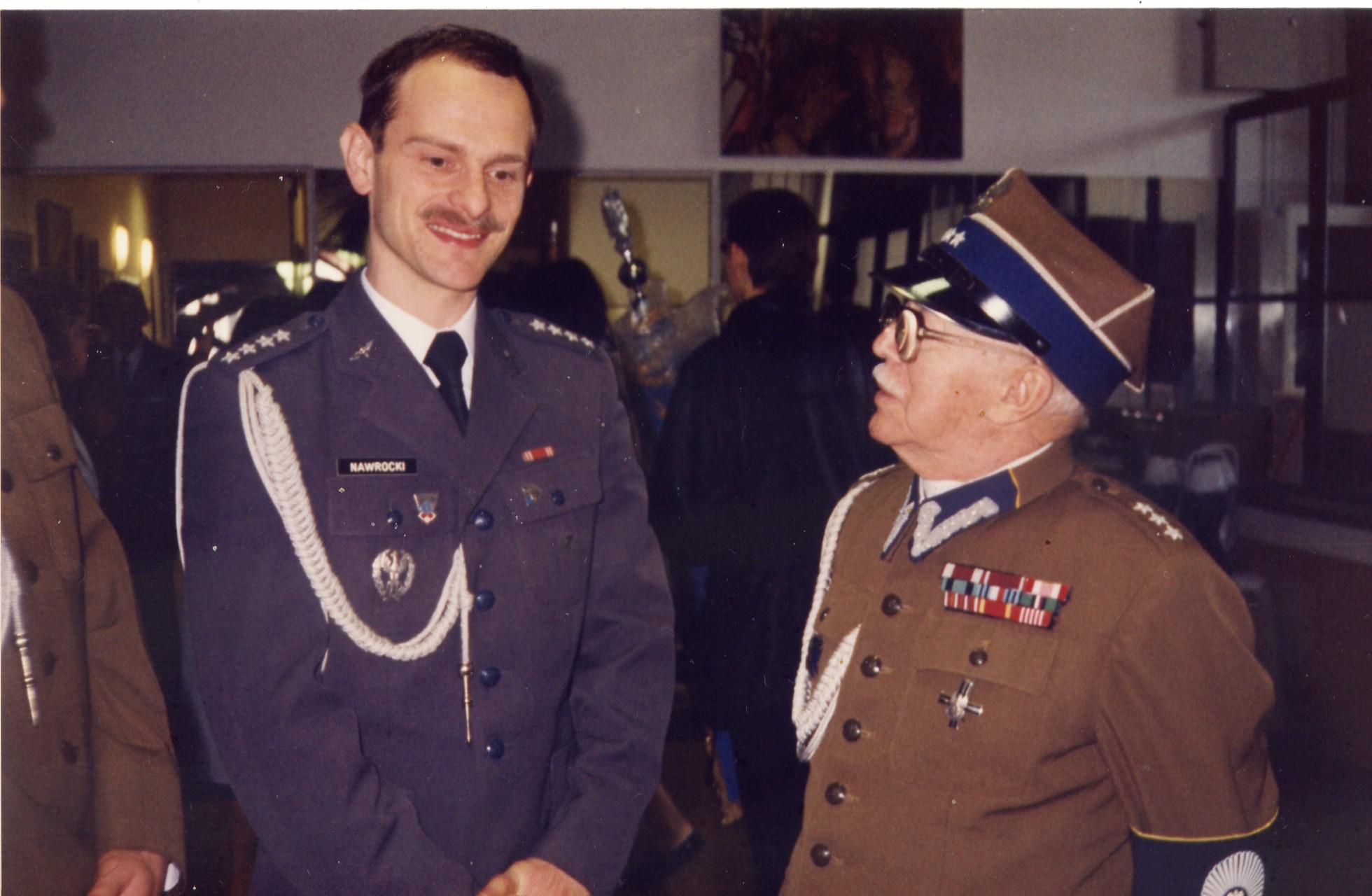 z szefem ZOR RP kpt. Drwotą 1998